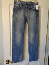 NWT COLIN'S JEANSWEAR CARLA STRAIGHT LOW RISE JEANS 26X31 703 RIGID