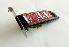 Digium 4 Port Analog PCI-E Asterisk Card with 0 FXS 4 FXO 0 EC 1ABA02F
