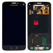Pantalla LCD kit completo pantalla táctil negra para Samsung Galaxy s5 mini g800f, nuevo
