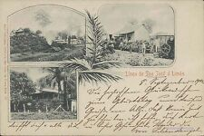 COSTA RICA LINEA DE SAN JOSE A LIMON MULTIPLE  VIEWS ED. LEHMANN