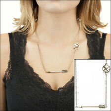 Hunger Games Mockingjay Cosplay Costume Arrow Metal Necklace Neck Chain LICENSED
