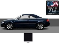 Audi A4 Convertible Soft Top With Heated Glass window in Black Stayfast Cloth
