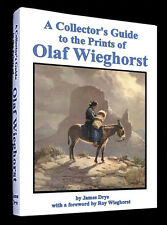 A Collectors Guide to the Prints of Olaf Wieghorst - signed by Author-Great Gift