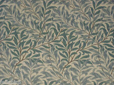 "WILLIAM MORRIS CURTAIN FABRIC""Willow Bough's Minor"" 3.35 MTRS PRIVET/HONEYCOMBE"