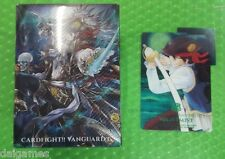 Vanguard PROMO Card Deck Case Box Mighty Rogue Nightstorm Nightmist with divider