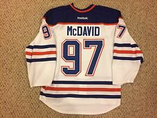 Connor McDavid Edmonton Oilers Authentic Reebok Edge 2.0 Jersey 7287 Size 56