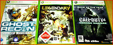 XBOX360 3GAMES AB18!- CALL OF DUTY 4 - LEGENDERY - GHOST RECON ADVANCE WARFARE