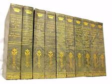 Jules Verne SIGNED Complete Works LIMITED 1st ED SET 1904 Vintage ANTIQUE BOOKS