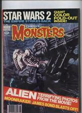 Famous Monsters of Filmland  Horror magazine #156 Alien cvr Godzilla James Bond