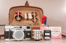 --Tested--Voigtlander Vitessa T with 50/2,8, 100/4,8 lenses case and other