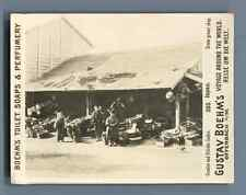 """Japan, Green grocer shop  Vintage silver print. Photo from the Series """"Gustav Bo"""