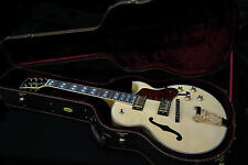 NEW KING HOLLOW BODY 175 STYLE FLAME MAPLE ARCH TOP JAZZ ELECTRIC GUITAR & CASE