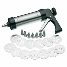 MASTERCLASS HEAVY DUTY PROFESSIONAL TRIGGER ACTION CAKE ICING & BISCUIT GUN SET