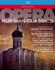 OPERA RUSSIAN CLASSICS - BOX 6 BLURAY in Russo NEW .cp.
