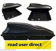 Black 415 Litre Large Capacity Car Roof  Box / Top Box / Luggage Box