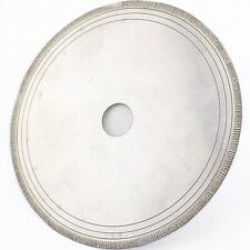 """6"""" inch Notched Rim 0.7mm Diamond Lapidary Rock Saw Blade Arbor Hole 5/8"""" with"""