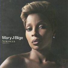 Stronger with Each Tear by Mary J. Blige, CD (2009 Geffen Records) New & Sealed