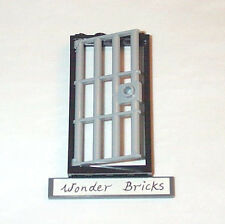 2x Lego Jail Door 79109 Castle Prison Bar Police Ninjago