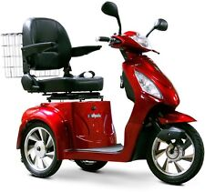 EWheels 3 Wheel Power Scooter, EW 36, Electric, Fast, Mobility Aid - Red