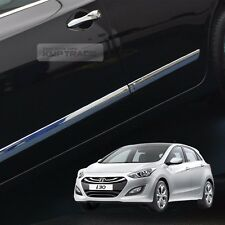 Chrome Side Skirt Door Line Sill Garnish Moding 4P for HYUNDAI 13-16 Elantra GT