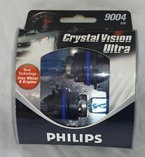New Philips Crystal Vision Ultra 9004 CVS2 XENON Look  12V  2 PACK