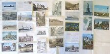 26 Postcards, Postmarked Summer 1948, Trip from US to Canada,Ireland-England