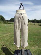 Fab JOHN LEWIS WOMEN Pure Linen Cargo Pants Trousers Size 14 BNWT RRP £49.00