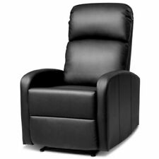 Costway HW64114BK Massage Recliner Chair with Footrest for