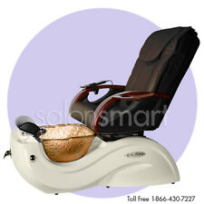 Massage Pedicure Chair CLEO GAX  Salon Equipment and Glass Bowl