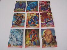 1995 X-Men Chromium Card Set 1-100
