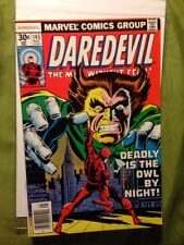 DAREDEVIL #145 Deadly is the Owl by Night! Marvel  Near Mint
