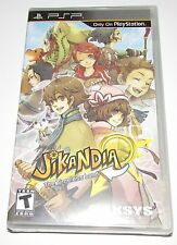 Jikandia for PSP Portable Factory Sealed! Brand New!