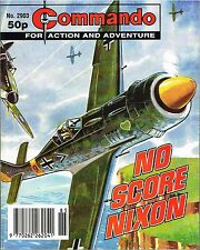 COMMANDO MAGAZINE WAR STORIES IN PICTURES - No. 2903 'No Score Nixon'