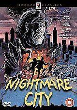 Nightmare City (DVD) Mel Ferrer ZOMBIE Horror Anchor Bay release.