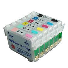Refillable Ink Cartridges Kit for EPSON Artisan 635 725 730 835 837 82N 81N