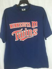 VTG Minnesota Twins MLB Baseball Blue T Shirt Tee M 38-40 Starter Top