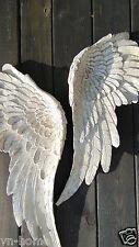Set Engelsflügel Engel Flügel Wings Wanddeko Wandhänger Wandschmuck Shabby weiß