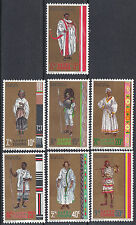 Ethiopia: 1971 Ethiopian National Costumes Series II, MNH