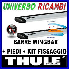 BARRE PORTATUTTO THULE WINGBAR KIT  X FIAT Idea 5-p 03   con barre longitudinali