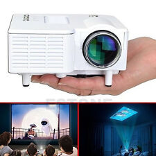 Mini 1080P HD Multimedia LED Home Projector Cinema Theater AV TV VGA HDMI USB SD