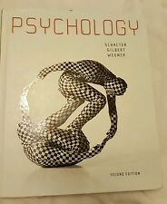 Psychology by Schacter, Gilbert, and Wegner. Second Edition