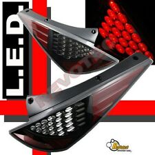 Black LED Tail Lights For 03 04 05 Nissan 350z Z33 Fairlady Plug & Play 1 Pair