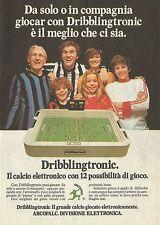 X2014 Dribblingtronic il calcio elettronico ARCOFALC - Pubblicità 1980 - Adv.