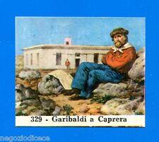 CENTENARIO UNITA D'ITALIA - Figurina-Sticker n. 329 - GARIBALDI A CAPRERA -Rec