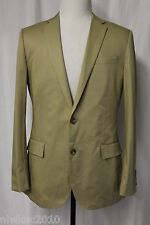 J CREW LUDLOW SUIT JACKET WITH DOUBLE VENT IN ITALIAN CHINO VINTAGE STONE 38R