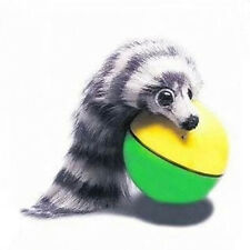 Pet Dog Puppy Cat Weasel Appears Motorized Funny Rolling Ball Jump Moving Toy