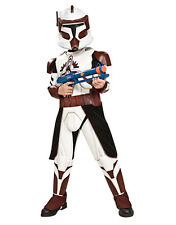"Star Wars Kids Deluxe Clone Trooper Fox Costume, M,Age 5-7, HEIGHT 4' 2"" -4' 6"""