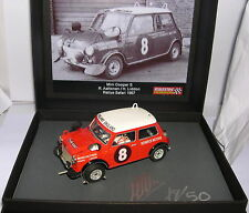 SCALEXTRIC PASSION SP014 MINI COOPER S #8 RALLY SAFARI 1967  LTED.ED 50 INITS MB