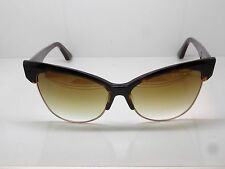 NEW DITA TEMPTATION 22029-B Tortoise/12k Gold Cat-Eye Mirror 61mm Sunglasses