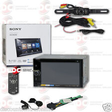 "SONY XAV-W650BT 6.2"" TOUCH LCD DVD NFC BLUETOOTH STEREO FREE LICENSEPLATE CAMERA"